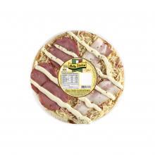 Pizza broto lombo e bacon